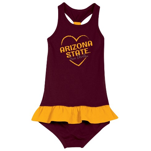 Arizona State Sun Devils After Her Heart Toddler Dress - image 1 of 2