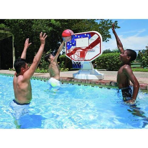 Poolmaster Usa Compeion Poolside Basketball Outdoor Swimming Pool Ball Target