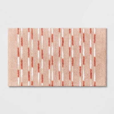 "20""x32"" Multi Textured Tufted Bath Rug - Threshold™"