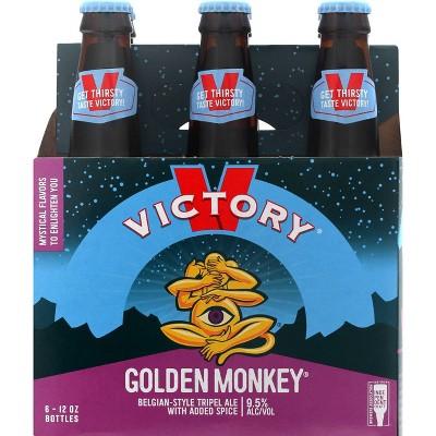 Victory Golden Monkey Belgian-Style Tripel Ale Beer - 6pk/12 fl oz Bottles