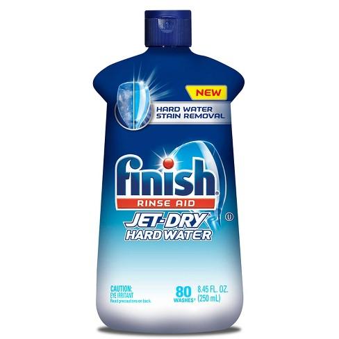 Finish Jet Dry Dishwasher Rinse Aid Hardwater Protection - 8.45oz - image 1 of 4