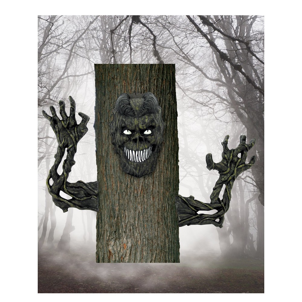 Image of Halloween Monster Tree Prop, Multi-Colored