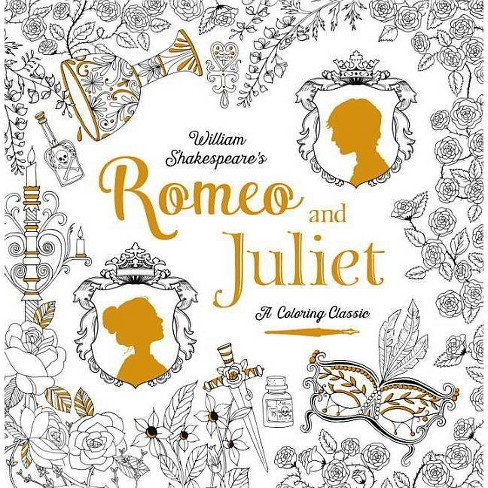 Romeo and Juliet: A Coloring Classic - by  William Shakespeare (Paperback) - image 1 of 1