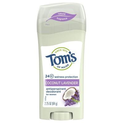 Deodorant: Tom's of Maine Women's Antiperspirant Deodorant
