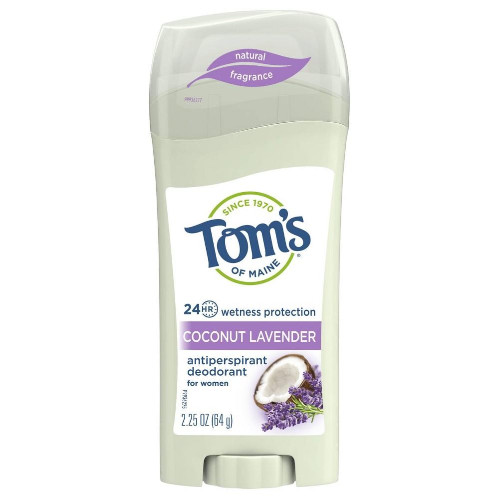Image of Tom's of maine Coconut Lavender Antiperspirant - 2.25oz