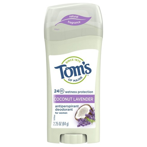 Tom's of Maine Antiperspirant & Deodorant Coconut Lavender - 2.25oz - image 1 of 4