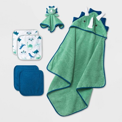 Baby Boys' Dino Bath Gift Set - Cloud Island™ Green