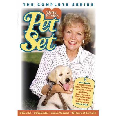 Betty White's Pet Set (DVD)(2021)