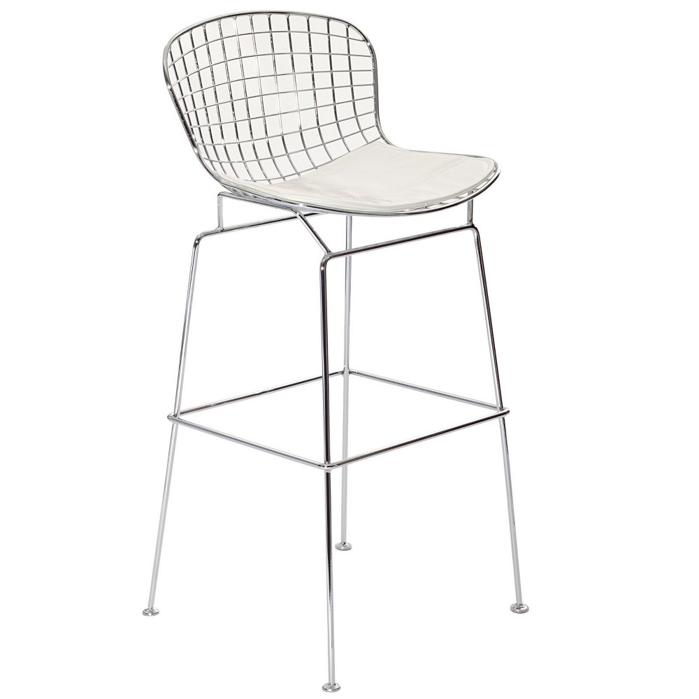 Cad Bar Stool White - Modway