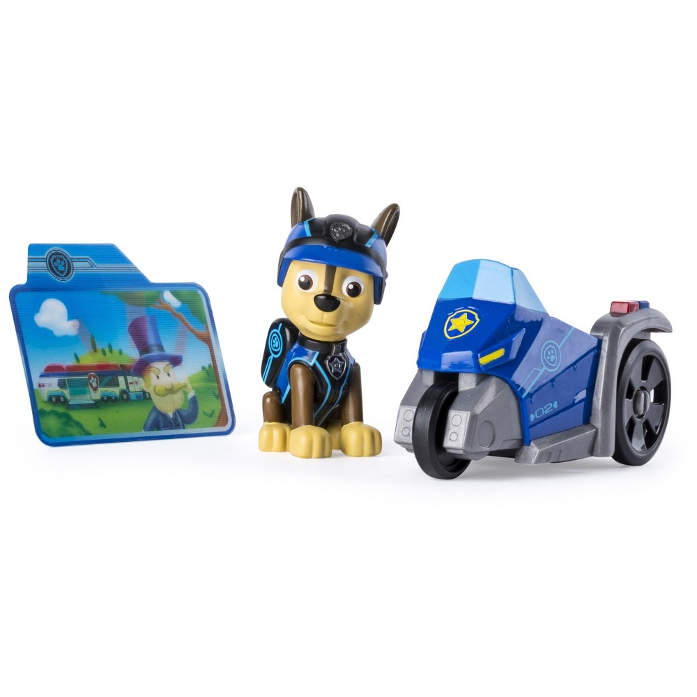 Paw Patrol Mission Paw - Chase's Three Wheeler - Figure and Vehicle