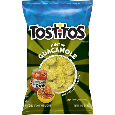 Tostitos Hint of Guacamole Bite Size Rounds - 12oz
