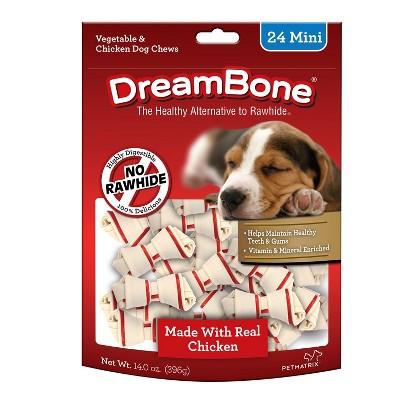 DreamBone Mini Bones with Chicken Dog Treats