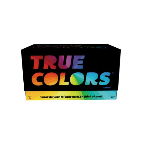 Games Adults Play True Colors Game