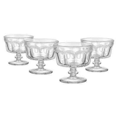 Artland® Set of 4 Pearl Ridge Mini Coup Bowls