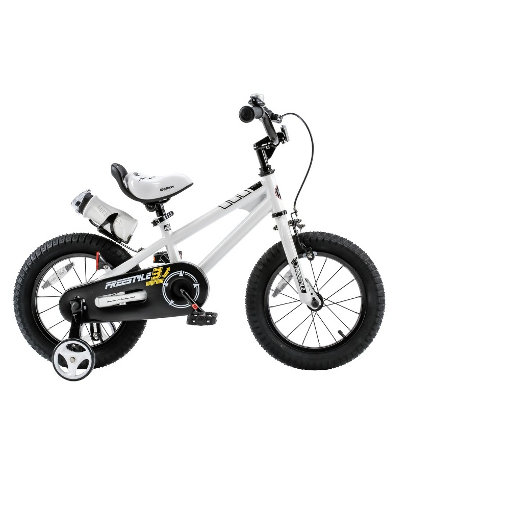 RoyalBaby Freestyle 12 Bike - White