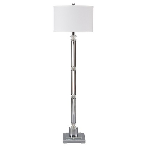 Marlon Floor Lamp Clear/Silver Finish - Signature Design by Ashley - image 1 of 2