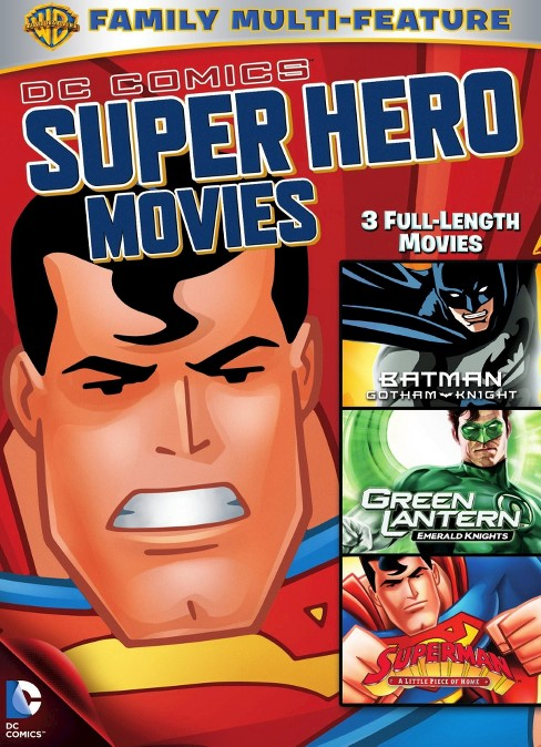 Dc superheroes movies 3 pack (DVD) - image 1 of 1