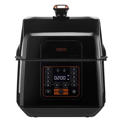 CRUX 6.5qt AirPro Cook & Fry with OptiPot Technology - Black
