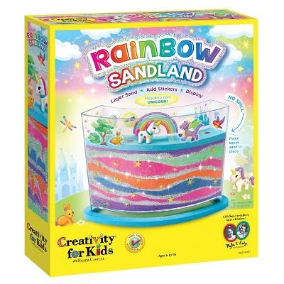 Rainbow Sandland Activity Kid - Creativity for Kids
