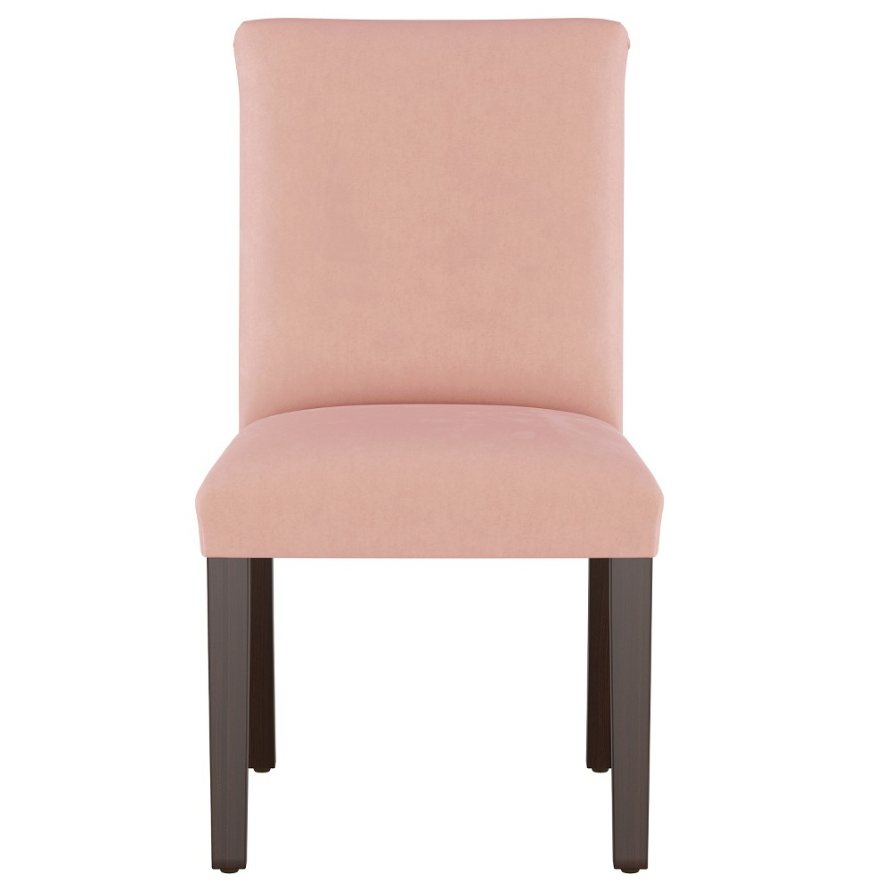 Luisa Pleated Dining Chair Blush Velvet - Cloth & Co.