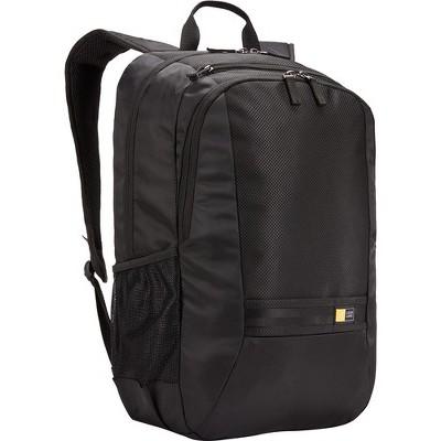 """Case Logic Carrying Case (Backpack) for 10.5"""" to 15.6"""" Notebook - Black - Mesh Pocket, Polyester - Shoulder Strap, Handle"""