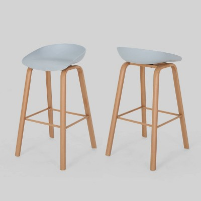 Set of 2 Commodore Modern Barstool - Christopher Knight Home