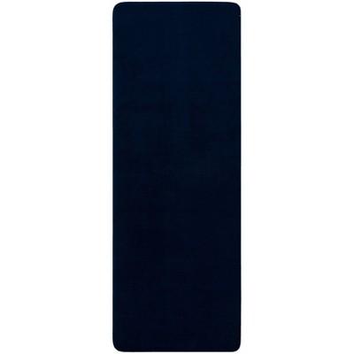 "22""x60"" Velveteen Memory Foam Bath Rug Dark Blue - Room Essentials™"