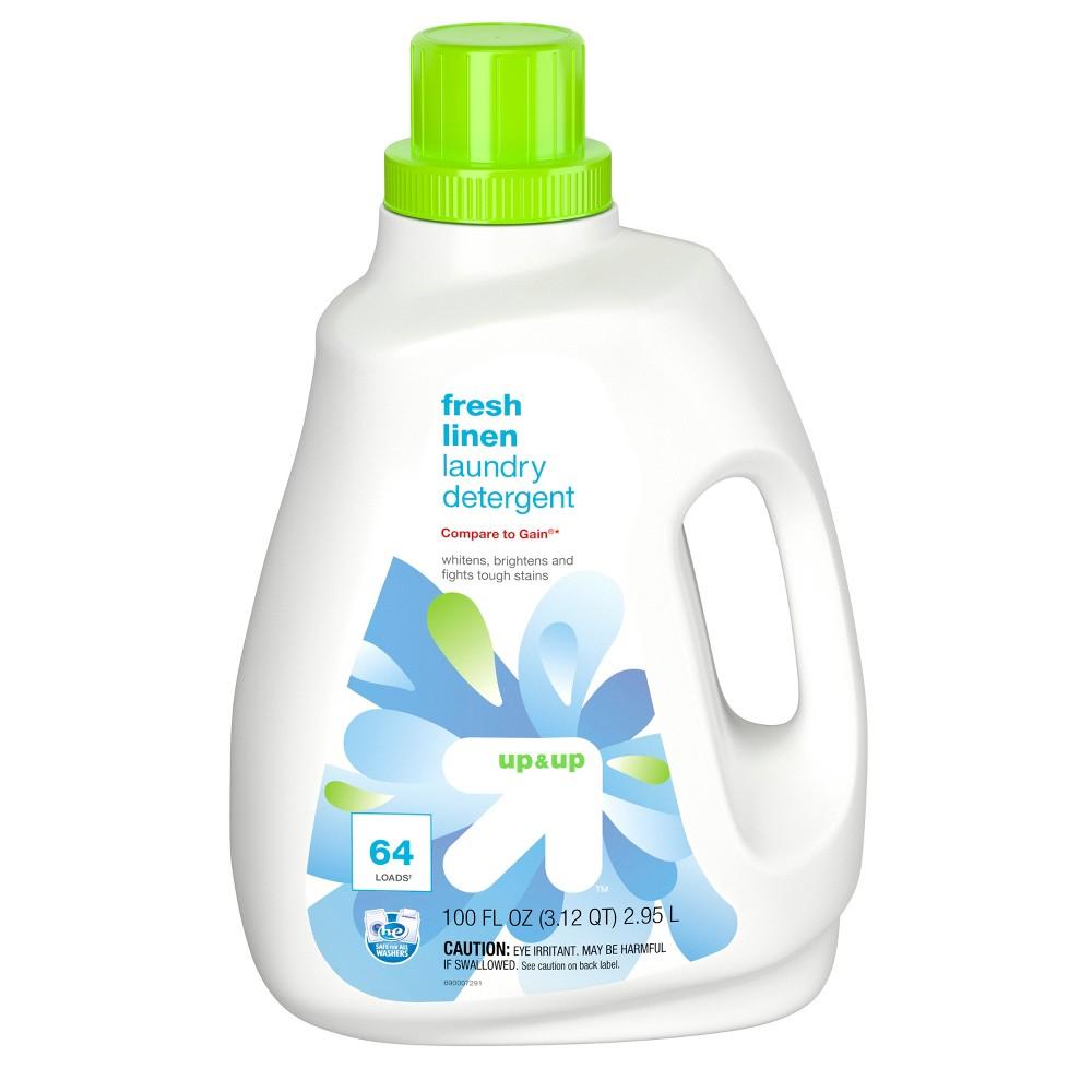 Fresh Linen HE Liquid Laundry Detergent - 100oz - up & up Coupons