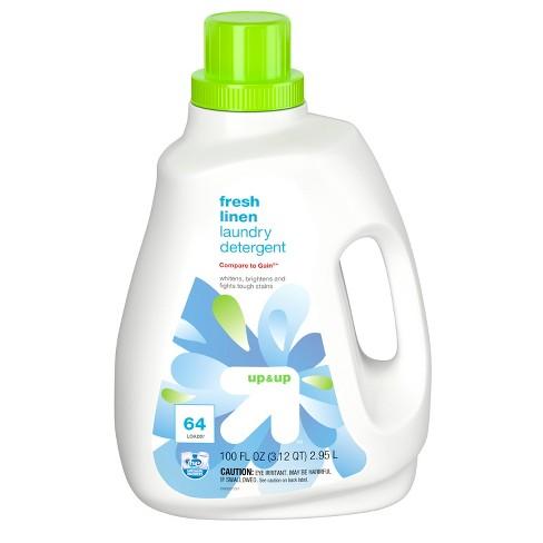 Fresh Linen HE Liquid Laundry Detergent - 100oz - Up&Up™ - image 1 of 3