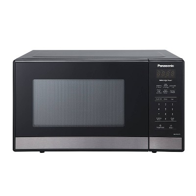 Panasonic .9 cuft Black Stainless Steel Microwave – NN-SB438