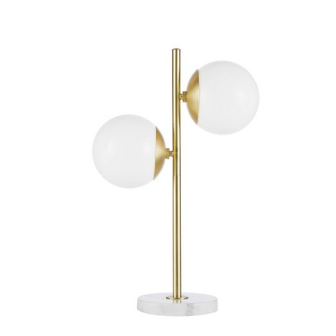 Holloway Table Lamp White/Gold - image 1 of 4