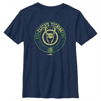 Boy's Marvel Loki Clock's Ticking T-Shirt