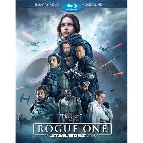 Rogue One: A Star Wars Story (Blu-ray + DVD + Digital) 3 Disc - image 1 of 1