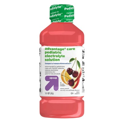 Pediatric Electrolyte Drink - Cherry Punch - 1L - Up&Up™