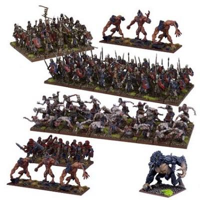 Undead Mega Army Miniatures Box Set
