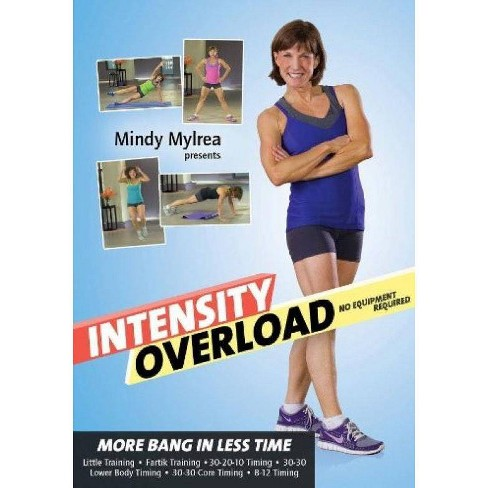 Mindy Mylrea: Intensity Overload No Equipment Required (DVD) - image 1 of 1