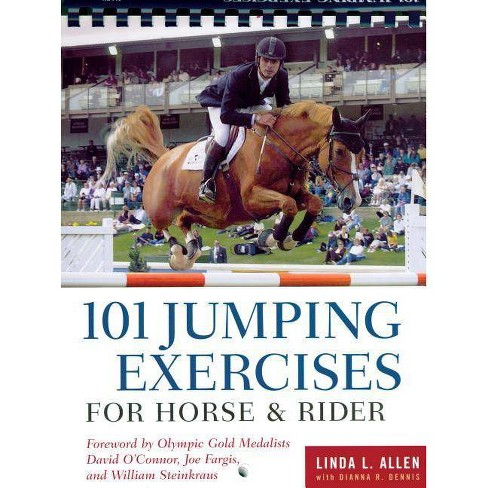 101 Jumping Exercises for Horse & Rider - (Read & Ride) by  Linda Allen & Dianna Robin Dennis - image 1 of 1