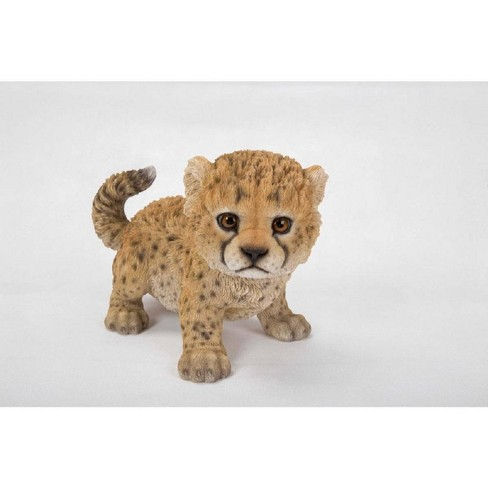 """19.5"""" Polyresin Prowling Cheetah Statue Brown - Hi-Line Gift - image 1 of 1"""