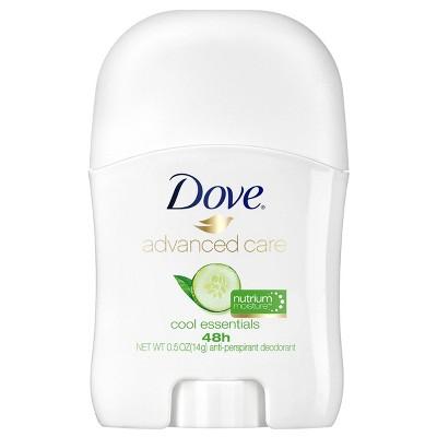 Dove Advanced Care 48-Hour Cool Essentials Antiperspirant & Deodorant Stick - Trial Size - 0.5oz