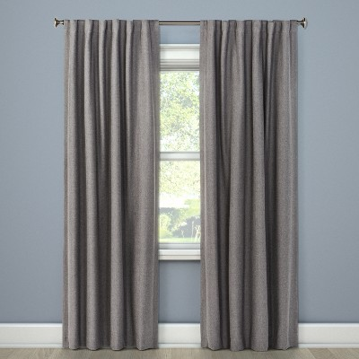 Blackout Curtain Panel Radiant Gray 84  - Threshold™