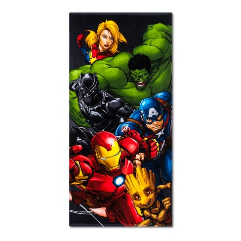 Avengers Beach Towel - Marvel - image 1 of 1