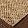 Keaton Basket Weave Patio Rug - image 3 of 4