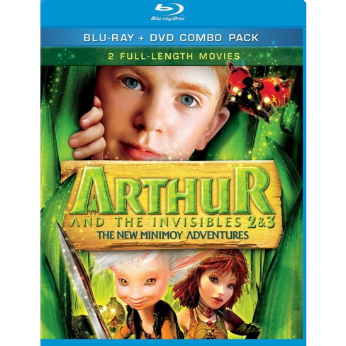 Arthur And The Invisibles 2 & 3: The New Minimoy Adventures (Blu-ray) - image 1 of 1