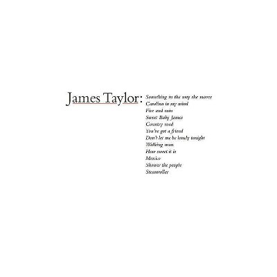 James Taylor - James Taylor's Greatest Hits (2019 Remaster) (CD)