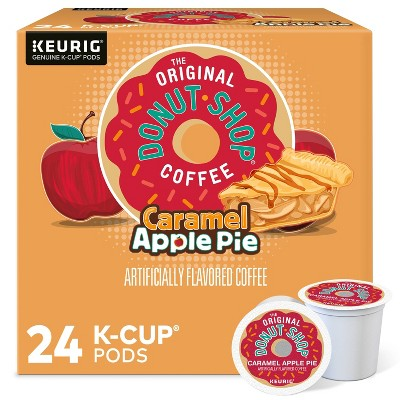 24ct The Original Donut Shop Caramel Apple Pie Keurig K-Cup Coffee Pods Flavored Coffee Medium Roast