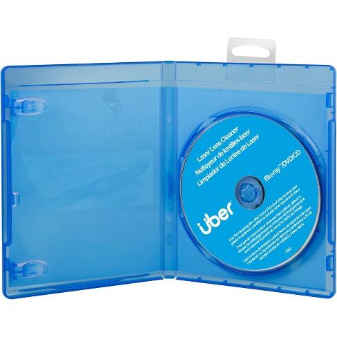 Uber Laser Lens Cleaner, Blu-Ray, DVD and CD Cleaner