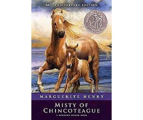 Misty of Chincoteague (Reissue, Anniversary) (Paperback) (Marguerite Henry) - image 1 of 1