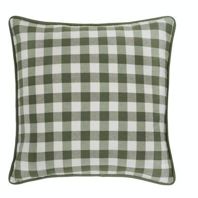 Kate Aurora 2 Pack Country Farmhouse Buffalo Plaid Zippered Pillow Covers