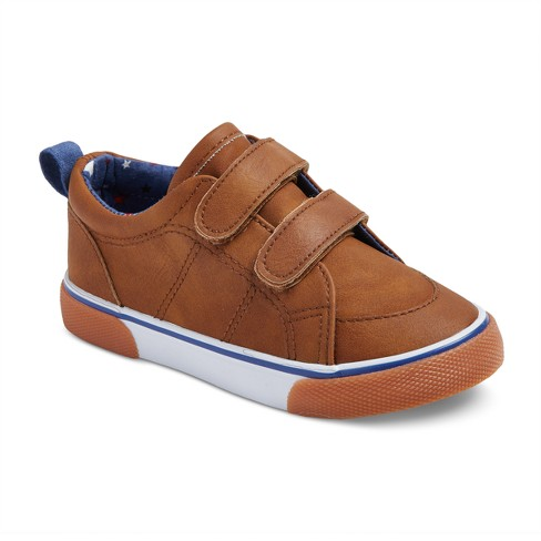 b8f4018157 Toddler Boys  Marty Double Strap Sneakers 11 - Cat   Jack™ - Tan ...