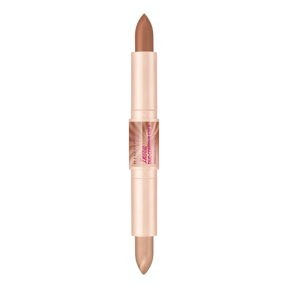 Rimmel Insta Contour Duo Stick 002 Medium -0.28oz, 002 Medium Brown